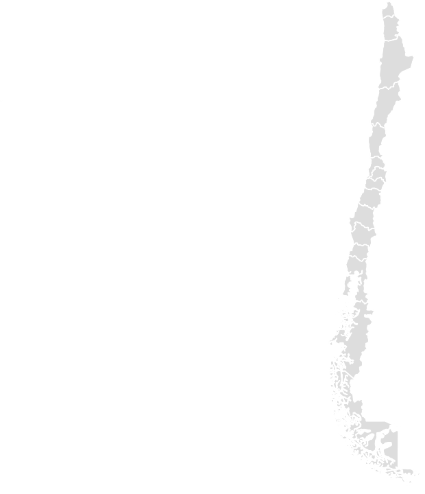 Printable Outline,Blank Map of CHILE