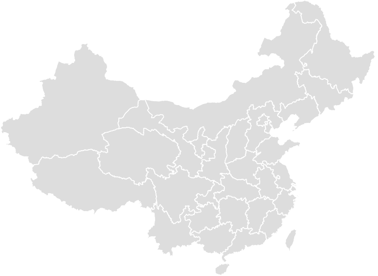 Printable Outline,Blank Map of CHINA