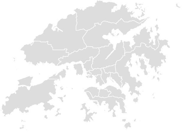 Printable Outline,Blank Map of HONG_KONG
