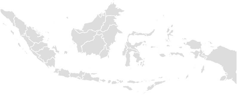 Printable Outline,Blank Map of INDONESIA