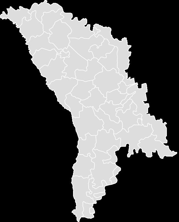 Printable Outline Blank Map Of MOLDOVA - Moldova map outline