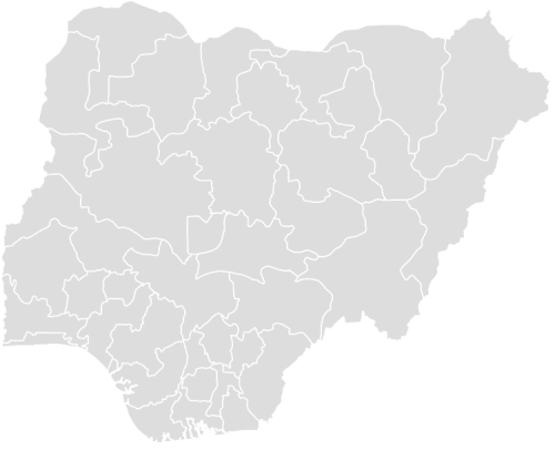 PaintColor NIGERIA Maps With Statistics Online Free Tool - Map of nigeria