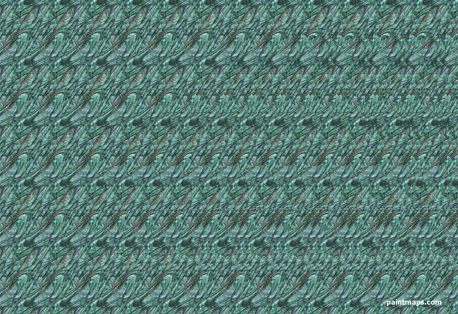 BURKINA_FASO Map in 3D Stereogram (Magic Eye)