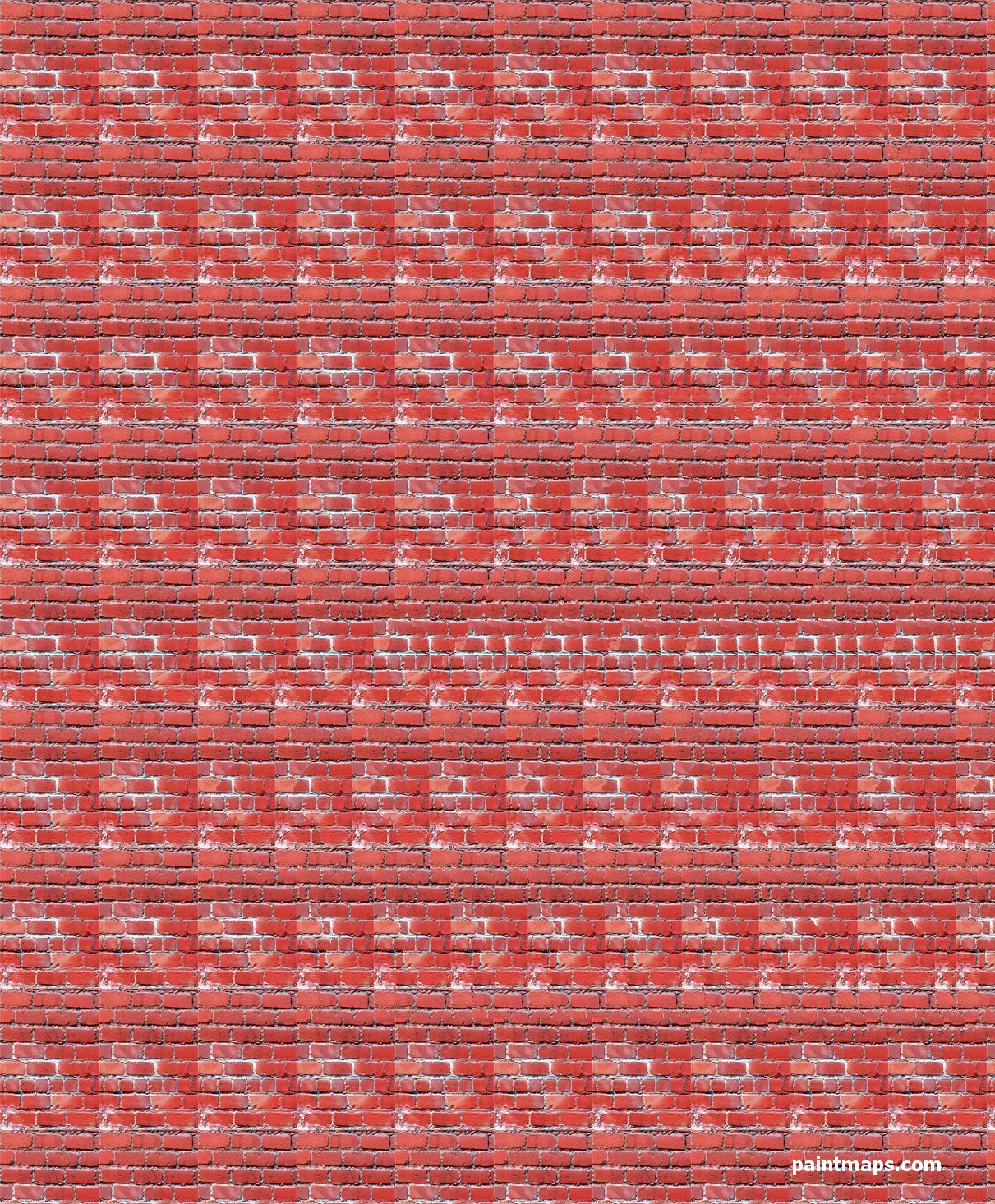 CAMEROON Map in 3D Stereogram (Magic Eye)